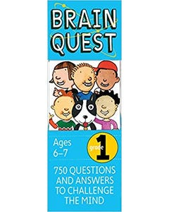 Brain Quest Grade 1, revised 4th edition: 750 Questions and Answers to Challenge the Mind-qatar