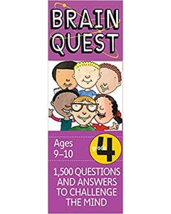 Brain Quest Grade 4, revised 4th edition: 1,500 Questions and Answers to Challenge the Mind-qatar