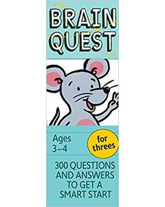 Brain Quest for Threes, revised 4th edition: 300 Questions and Answers to Get a Smart Start-qatar