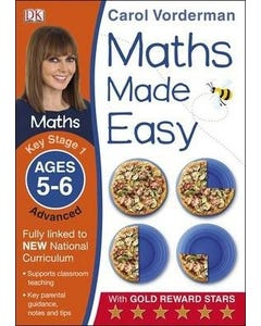 Maths Made Easy Ages 5-6 Key Stage 1 Advanced-qatar
