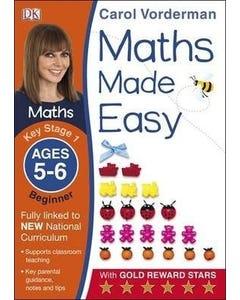 Maths Made Easy Ages 5-6 Key Stage 1 Beginner-qatar