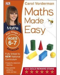 Maths Made Easy Ages 6-7 Key Stage 1 Advanced-qatar