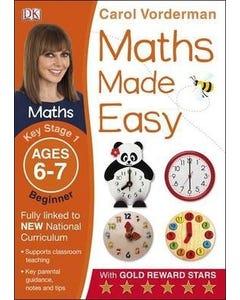 Maths Made Easy Ages 6-7 Key Stage 1 Beginner-qatar
