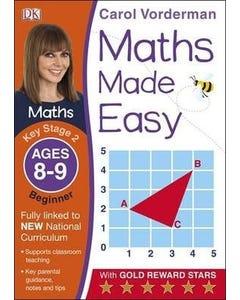 Maths Made Easy Ages 8-9 Key Stage 2 Beginner-qatar