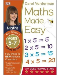 Maths Made Easy Times Tables Ages 5-7 Key Stage 1-qatar