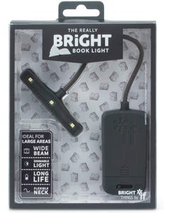 IF Book Light - Really Bright Book Light - Grey