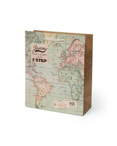 GIFT BAG - LARGE - MAP