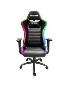 RGB Gaming Chair- Black-qatar