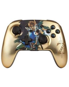 Enhanced Wireless Controller for Nintendo Switch - Chrome Link (Gold)