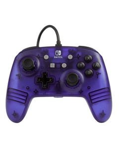 PowerA Enhanced Wired Controller for Nintendo Switch - Purple Frost