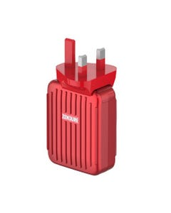 Zendure A-Series 4 Port Wall Chargers with USB-C PD 30W - Red