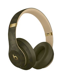 Beats Studio3 Wireless Headphones - Beats Camo Collection - Forest Green-qatar