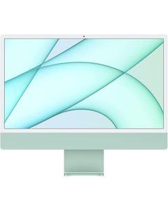 Apple 24-inch iMac with Retina 4.5K display/ M1chip with 8‑core CPU and 8‑core GPU/8GB RAM/ 512GB SSD/English - Green