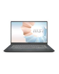 MSI Modern 15 A11SB Business Laptop (i7-1165G7/MX450, GDDR5 2GB/8GB RAM/512GB SSD/15.6in FHD 60Hz) - Black