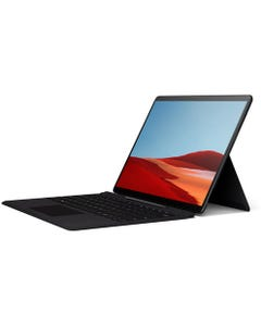 Microsoft Surface Pro X 13in/ SQ1/ 8GB RAM/256GB SSD/LTE Laptop with Type Cover - Black (Arabic & English)
