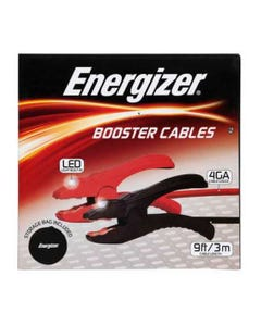 Energizer Booster Cables with LED 600Amp 3m