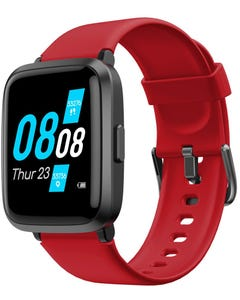 Xcell G1 Pro Smart Watch - Red