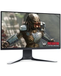 Dell Alienware 25 Gaming Monitor AW2521HFL with 240Hz - Lunar Light