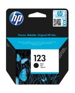 HP 123 Black Ink Cartridge (F6V17AE)