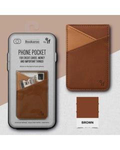 Phone Pocket - Brown - Bookaroo Starter Pack