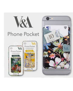 Phone Pocket - Colorful - V&A Bookaroo - Morris Tulip & Willow