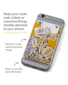 Phone Pocket - Colorful - V&A Bookaroo - Kilburn Black Floral