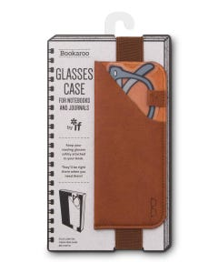 Glasses Case - Brown - Bookaroo