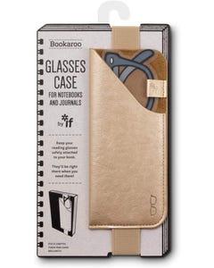 Glasses Case - Gold - Bookaroo