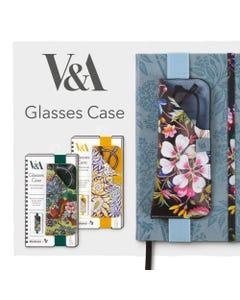 Glasses Case - Colorful - V&A Bookaroo - Kilburn Black Floral