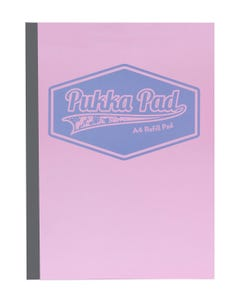 Pastel A4 400 Refill Pad  400 pages Pink Color Pukka Pad