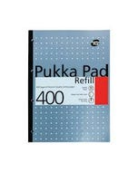 A4 Refill Pad  400 pages Metallic Silver Color Pukka Pad-qatar