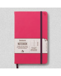 Notebook JOURNAL A5, 192 Page Lined, PU cover, Pink - Bookaroo