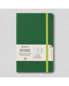 Notebook JOURNAL A5, 192 Page Lined, PU cover, Forest Green - Bookaroo
