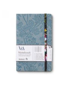 Notebook JOURNAL A5 - Colorful - V&A Bookaroo - Kilburn Black Floral