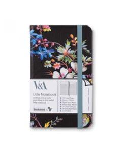 Notebook JOURNAL A6 - Colorful - V&A Bookaroo - Kilburn Black Floral