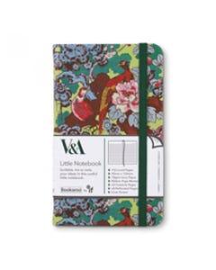 Notebook JOURNAL A6 - Colorful - V&A Bookaroo - Sundour Pheasant