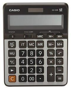Calculator Desktop 12 Digits Casio GX-120B Silver-qatar