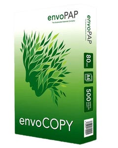 A4 Paper Photocopy Sustainable Envo PAP 80 GSM ECO   White