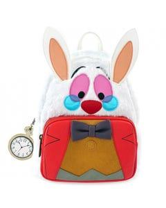 Loungefly Mini Backpack  - Alice in Wonderland White Rabbit