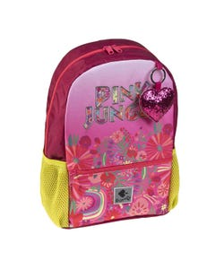 """Busquets Backpack Small 13in, PINK JUNGLE, """" Dim 24,5 x 33,0 x 11,0 cm """""""