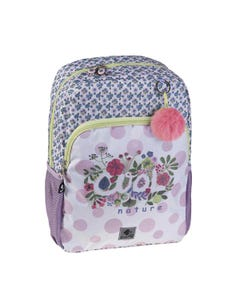 """Busquets Backpack One Side, 15.5in, Padded base, COOL NATURE """" Dim 29,0 x 40,0 x 12,0 cm """""""