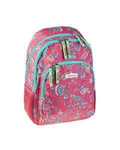 """Busquets Backpack Double Side, 17.5in, Padded base, FLAMENCO """" Dim 30,0 x 45,0 x 15,0 cm """""""