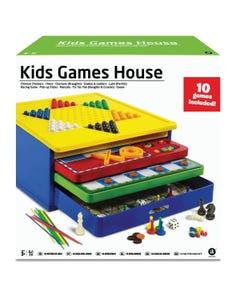 MA 10-In-1 Kids Game House