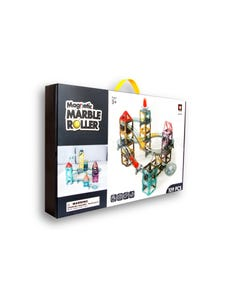 Magnetic marble roller - 109 pcs building blocks
