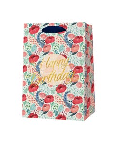 GIFT BAG - LARGE - FLOWERS