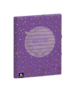 HARD COVER FOLIO STAR BY BUSQUETS 26x33.5x3cm