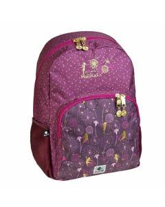 """Backpack School  17.5 inch MAGICAL """" Dim 30,0 x 45,0 x 15,0 cm """"-qatar"""