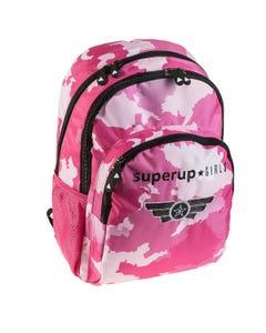 "Backpack Double 17.5 inch SUPERUP "" Dim 30,0 x 45,0 x 15,0 cm ""-qatar"