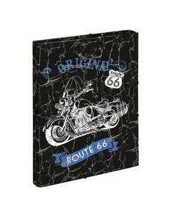 HARD COVER FOLDER ROUTE 66 BY DIS2 26x33.5x3cm