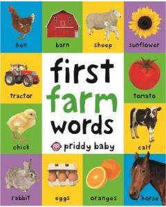 First 100 Farm Words (Bright Baby First 100 Board Books)
